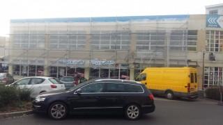 Přední strana fasády 2