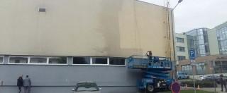 Rekonstrukce fasády obchodního centra