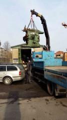 Odvoz kovoobráběcího stroje
